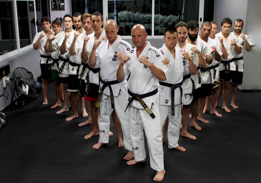 Stage Black Belt Shidokan M.M.A